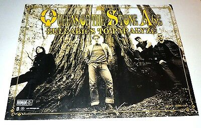 QUEENS OF THE STONE AGE~Lullabies To Paralyze~Promo Poster~18x24~2005~Excellent