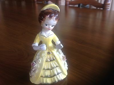 Vintage Napco woman figurine Stamped on the bottom