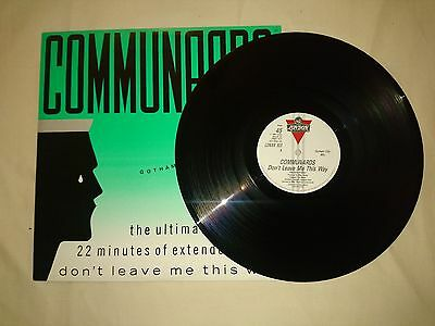 """Communards - Don't Leave Me This Way (Gotham City Mix) - 12"""" Single"""