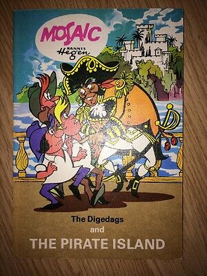 MOSAIC - The Digedags and the Pirate Island - EXPORT Englisch English