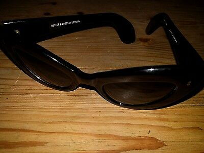 Vintage Cutler and Gross cat sunglasses b 0207