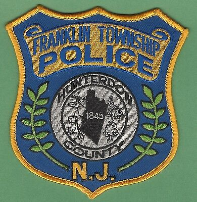 Franklin Township New Jersey Police Patch