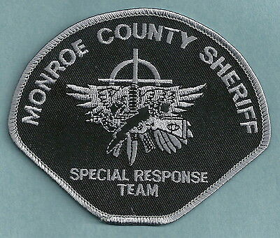 Monroe County Sheriff Michigan Srt Special Response Team Police Patch