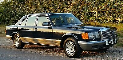 Mercedes 500 Sel W126  1982 1 Owner Leather A1 Condition 66K 12Mths Mot