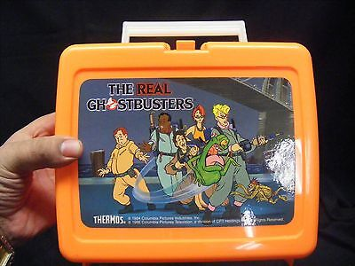 vintage  THE REAL GHOSTBUSTERS LUNCHBOX  no thermos