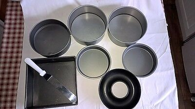 Cake Baking? Selection of quality heavy duty baking pans/tins