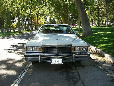 1979 Cadillac DeVille White, Red Leather 1979 Cadilac Coupe DeVille, 70K, One Owner, Excellant, All Leather