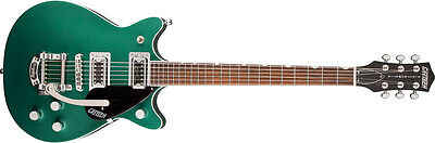 Gretsch G5655T-CB Electromatic Center Block Double Jet w/ Bigsby® Green , - NEW!
