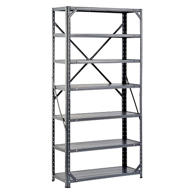 Steel Shelving Unit Heavy Duty Metal Storage Shelves Rack Garage Industrial NEW