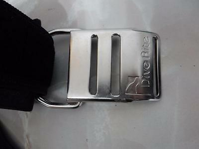 Dive Rite Stainless Cam Band  Mint Dive,Stage,Pony,Bail Out,Scuba, Side Mount