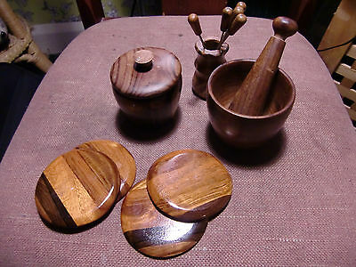 Collection Of Treen Ware