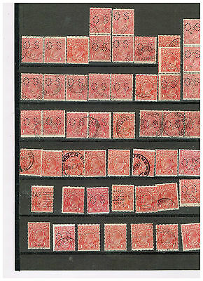 Kgv Selection, Red 1 1/2, Qty 50 Used