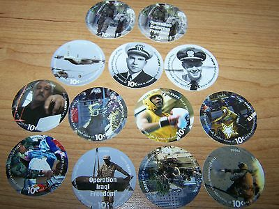 8th  Print  Se t 10  Cent  AAFES   Pogs  2006A printing   Unirculated