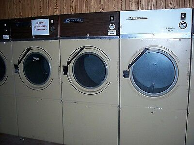 Commercial Dexter Clothes Dryer Single Phase Works Great