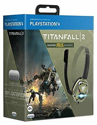 PDP Officially Licensed Titanfall 2 Chat Headset PS4