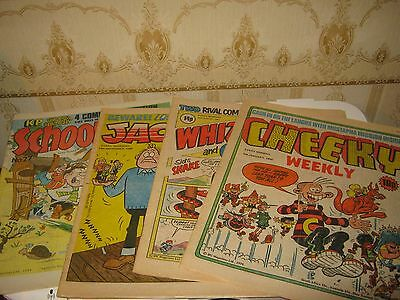 Cheeky/Whizzer and Chips/Jackpot/School Fun Comics