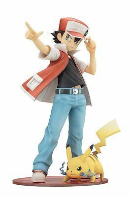Pokemon Red with Pikachu ArtFx J 1/8 Scale PVC Figure Set