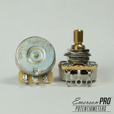 Emerson Custom, CTS Potentiometer,  Split Shaft (Choice of 500K/250K Ohms)