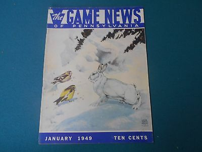 Vintage Pennsylvania Game News Magazine, Game Commission, Traps, Trapping