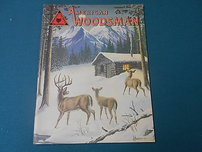 American Woodsman Magazine December 1954, S Stanley Hawbaker, Traps, Trapping