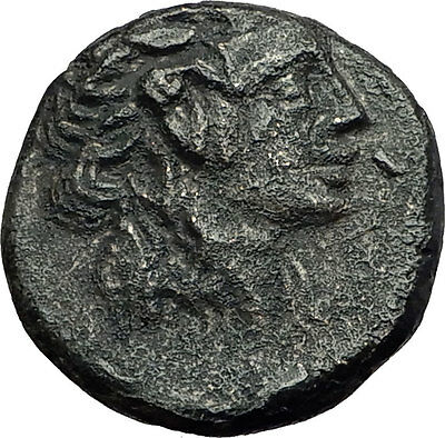 Amisos Pontus 100BC - MITHRADATES VI the GREAT Time - DIONYSUS Greek Coin i59424
