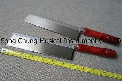 """2Pcs ultrathin hand saw with wooden handle,1.57"""" x 0.012"""" thick and 6.5""""long"""