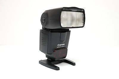 Canon Speedlite 430EX II Shoe Mount Flash with case and stand