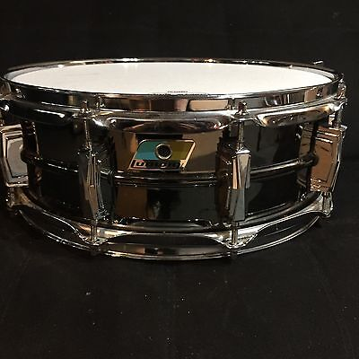 Extra Fine vintage 5x14 Ludwig Black Beauty Snare Drum