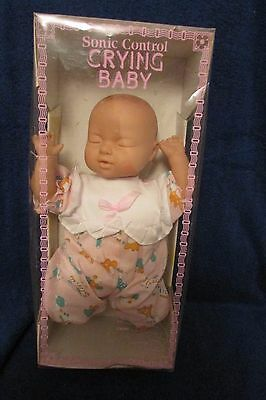 Sonic Control Crying Baby Doll