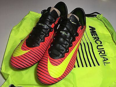 Nike Mercurial Vapor XI AG-Pro Artificial Ground Soccer Cleats Size 9 US
