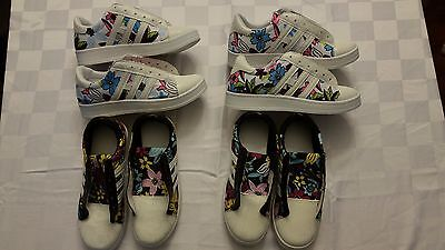 Small Lot of Girls Sneakers and Boots (6 pairs, sizes 4 and 5 US, NIB)