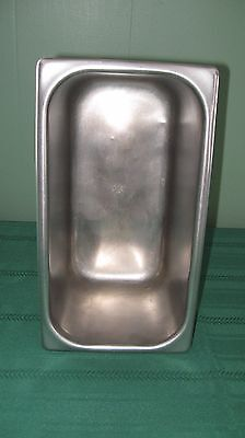 """Vollrath 1/3 Size Stainless Steel Steam Table Pan ~ 6"""""""