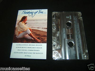 Thinking Of You Australian Cassette Tape Various Artists Compilation