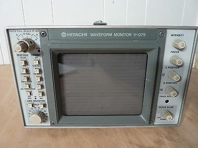 Hitachi V-079 Video Waveform monitor with portable case Make an offer