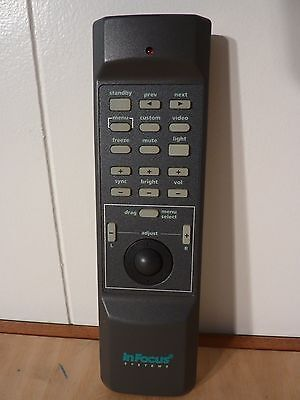 Infocus LP580 Projector remote control 590-0167-00 Make an offer