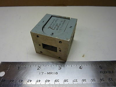 Microwave Associates 48688 Circulator 12.7 - 13.2 Ghz Satelllite Waveguide