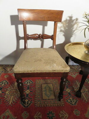 Antique Spade Back Dining Bedroom  Chair C1880