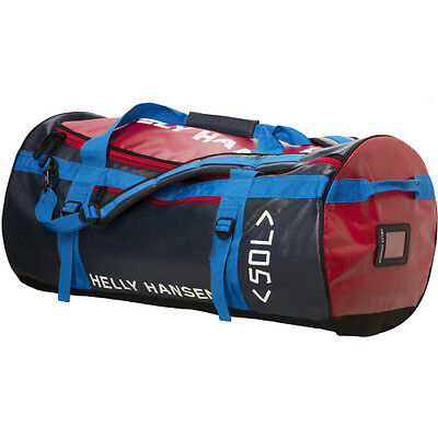 Helly Hansen Hh 50l Mens Bag Duffle - Navy Red One Size