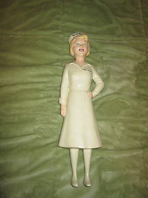 "1940-50's ""Miss Curity"" Advertising Nurse Mannequin Doll"
