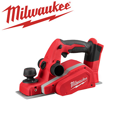 Milwaukee - M18 82mm (3 Inch) 18V Lithium-Ion Cordless Planer M18BP-0 Tool Only