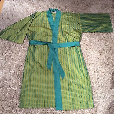Jim Thompson 100% Silk Kimono Houscoast