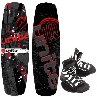 Base Sports REVOLVER 140 Paquet Wakeboard avec Wakeboardbindung 2017 rouge