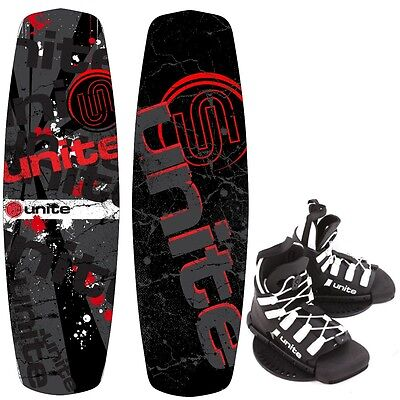 Base Sports REVOLVER 135 Paquet Wakeboard avec Wakeboardbindung 2017 rouge