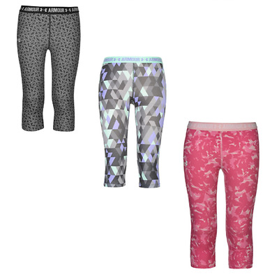 Under Armour Collant Pantaloni Pantaloni Leggings Ragazzi Ragazze