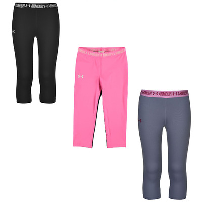 Under Armour Pantaloni Legging Collant Ragazzi Ragazze