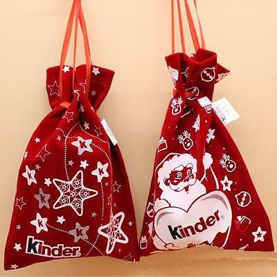 Newest Xmas Decor Wedding Home Party Candy Gift Christmas Bag Free Shipping Gift