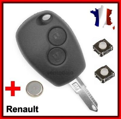 Plip shell key Dacia Sandero Duster Lodgy Logan Dokker +Blade +2 Switches +