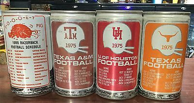 Pearl Light. 12FL.OZ. University Football Cans From USA. x 4 cans