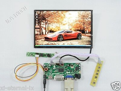 B101UAN02.1 LCD SCREEN 10.1 FULL HD 1080P M.NT68676 BOARD HDMI VGA pi raspberry