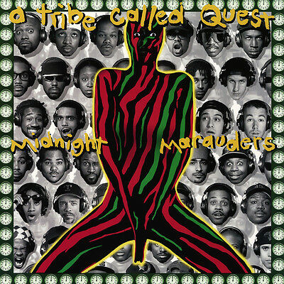 "A Tribe Called Quest Midnight Marauders Album Poster 32x32"" 24x24"" 18x18"" Silk"